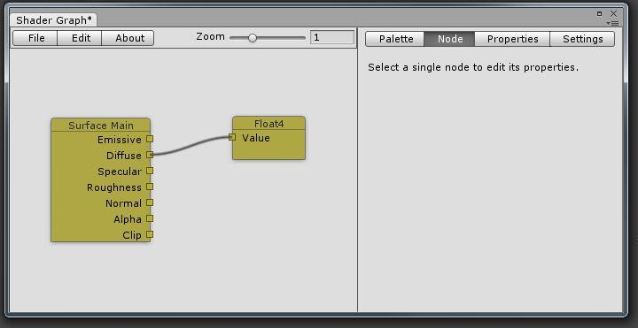 Graph Editor Example